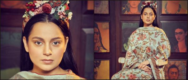 Kangana Ranaut Channels Desi Frida Kahlo & We're As Confused As You Are!