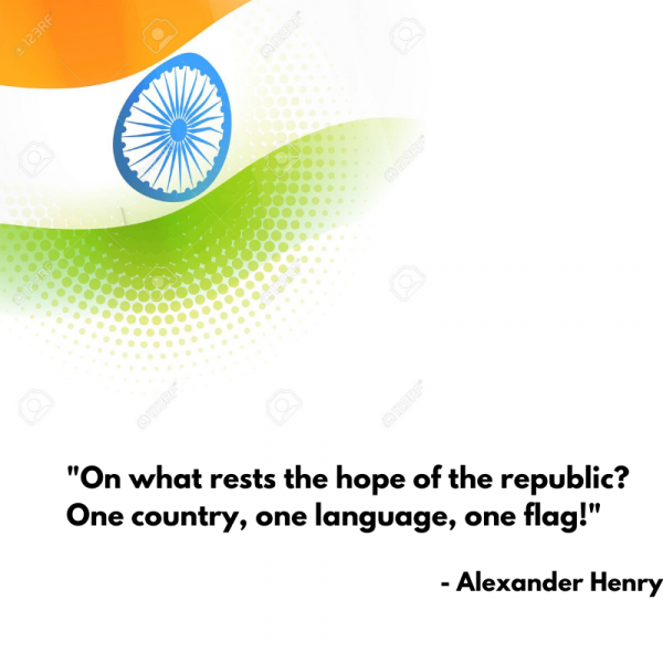 Famous Republic Day Quote By Alexander Henry