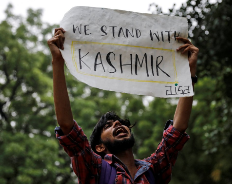 india stands with kashmir