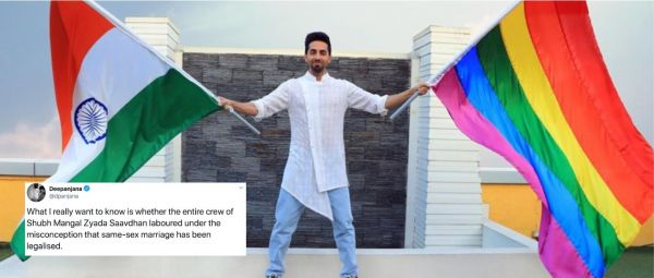 Dear Ayushmann, At Least Learn The Basics Before You Profit Off The LGBTQ+ Community