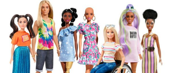 Prosthetic Limbs, Vitiligo & Alopecia: Barbie Dolls Just Got More Inclusive & We Love It