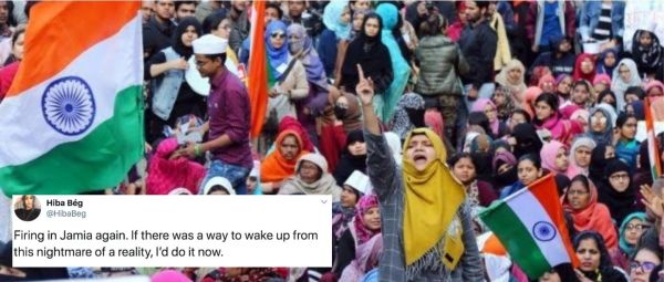 #SOSJamia: Twitter Reacts To Third Shooting At Jamia Protesters In Four Days