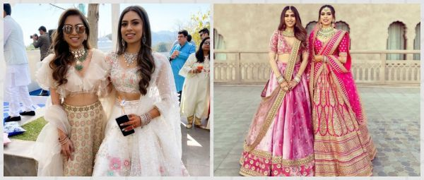 Dear Behena, Can We Colour-Coordinate Outfits Like This Mumbai Bride & Her Sister?
