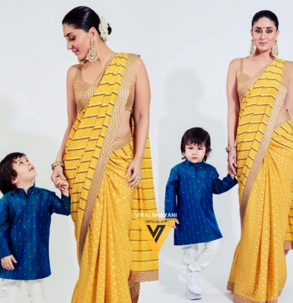 Kareena Kapoor with son Taimur