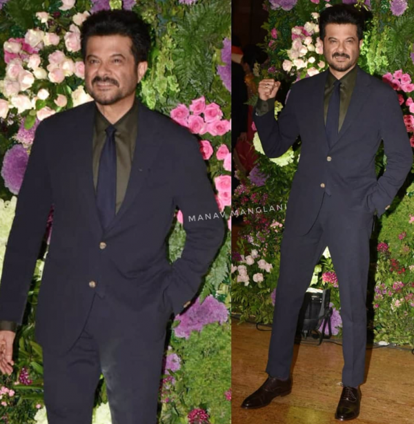 Anil Kapoor at wedding