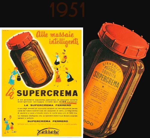 nutella was initially called SuperCrema