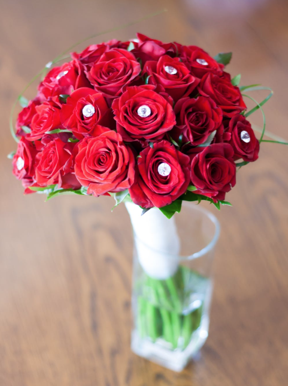 bouquets of flowers for Valentine's day
