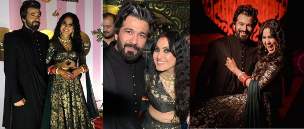 Gorgeous Pics From Kamya Panjabi's Reception Are Here & All We Can Say Is 'Nazar Na Lage'