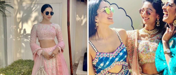Kiara Advani's Bridesmaid Outfits Have Us Wondering How She Looks So Damn Fine, Every Time