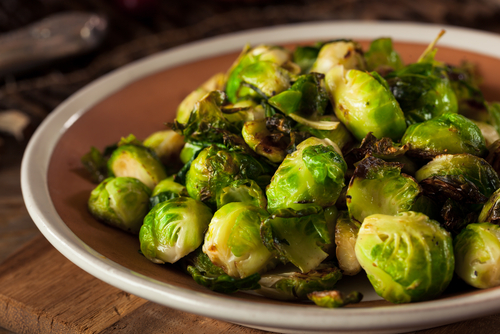 Brussels sprouts - folic acid rich food