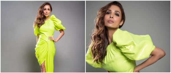 Anarkali Disco Chali: Malaika Arora Paints The Town Neon While Acing 5 Trends In 1 Look!