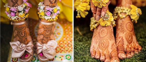 Brides-To-Be, Pairphools Are The Only Accessory You Need For Your Mehendi Ceremony!