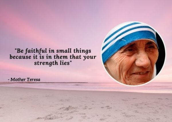 Quotes On Women's Day - Mother Teresa