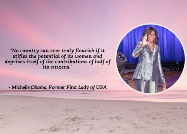 International Women's Day Quotes - Michelle Obama
