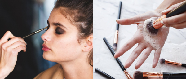 Cleaning Your Makeup Brushes Is As Important As Taking A Bath, But Are You Doing It Right?