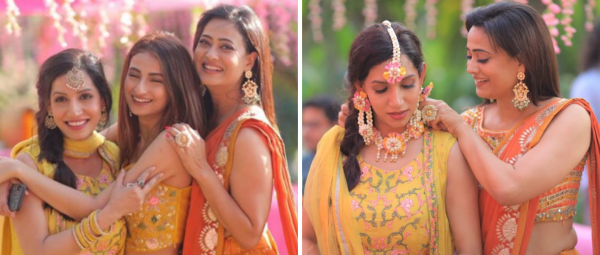 Shweta & Palak Tiwari Look Like The Most Adorable Maa-Beti Jodi At A Family Wedding!