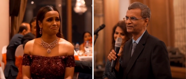 This Emotional Speech By The Bride's Dad Will Make You Want To Give Papa A Tighttt Hug