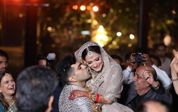 a perfect wedding photo clicked by happy frames photography