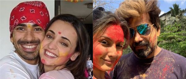 A Splash Of Colour & A Whole Lotta Love: How TV's Newlyweds Celebrated Their First Holi