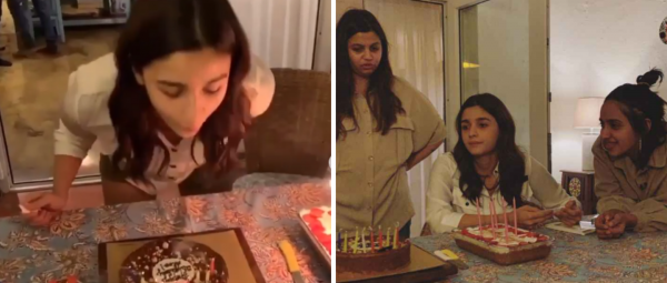 Pictures & Videos From Alia Bhatt's B'day Celebration With Her BFFs Are All Things Love!