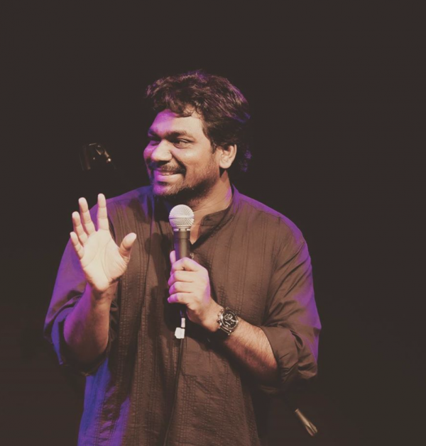 Best stand-up Comedian - Zakir Khan