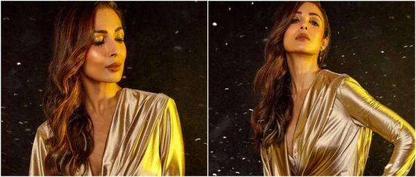 Gold & Glossy: Malaika Arora's MUA Breaks Down Her Makeup Look For Us!