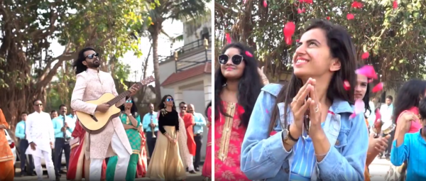 This Surprise Proposal Complete With Band, Baaja & Baraat Is Every Girl's Dream!