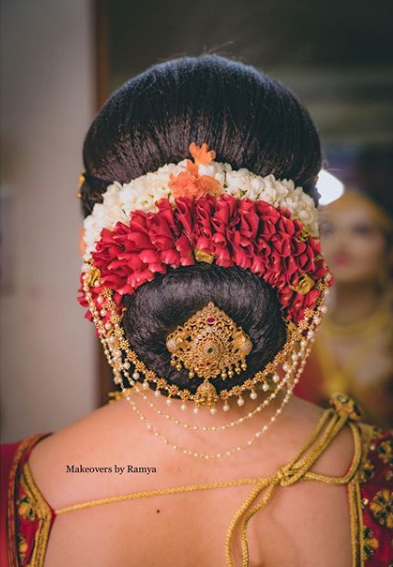 18+ Best South Indian Bridal Hairstyles and Hair Accessories | POPxo
