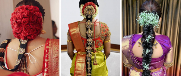 The Ultimate Guide To Amazing Hairstyles &  Accessories For South Indian Brides!
