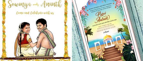 7 Mobile Apps Where You Can Create Your Wedding E-Invites For Free!