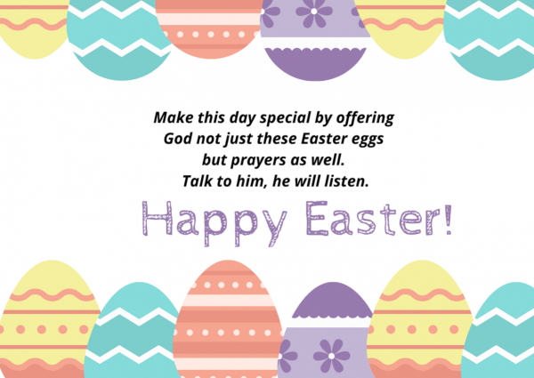 Happy Easter Wishes Image