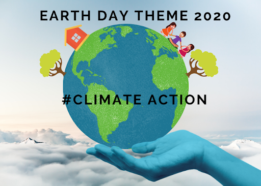 earth day 2020 theme - climate action