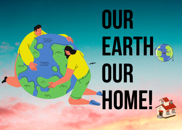 World earth day poster