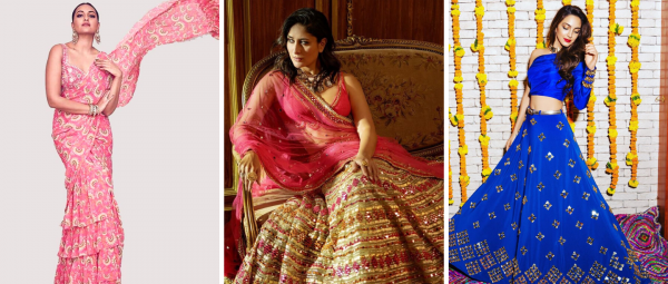 Looking For A Vibrant & Offbeat Mehendi Outfit? 5 Designers We Swear By!
