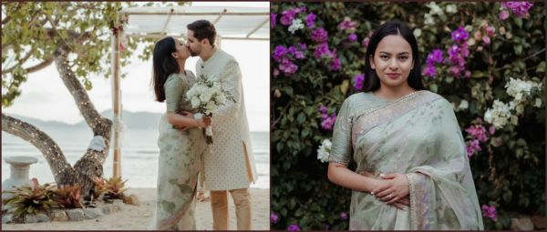 Couple Had A Gorg Impromptu Wedding After Their Bikaner Affair Got Cancelled Due To COVID