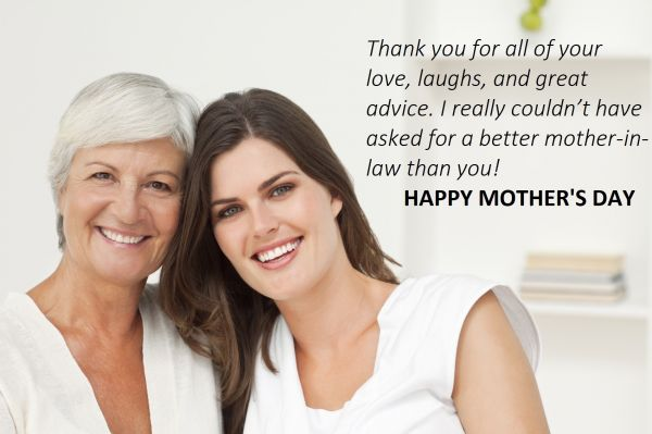 Mother's Day Messages For Mothers-In-Law