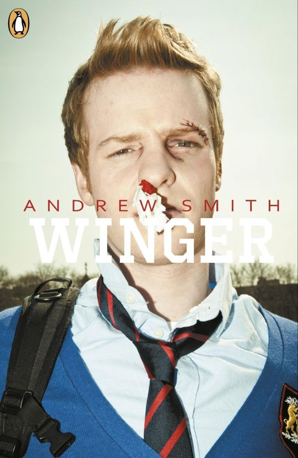 Winger by Andrew Smith - best comedy book for teeneger