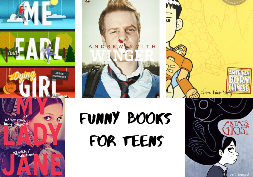 Funny Books For Teens online