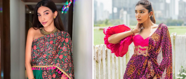5 Offbeat Saree Styles That You Can Totally Steal From Bride-To-Be Juhi Godambe!