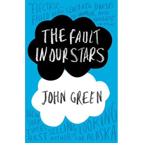 The Fault In Our Stars by John Green -  romantic books for teens
