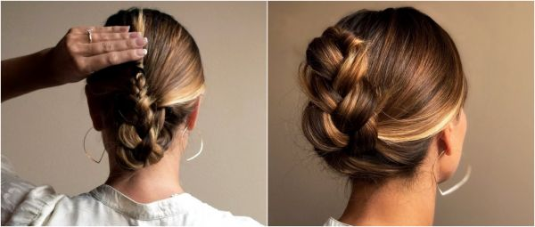 The Frenchie: This Super Chic Braided Ponytail-Bun Will Give You Insta Glam!