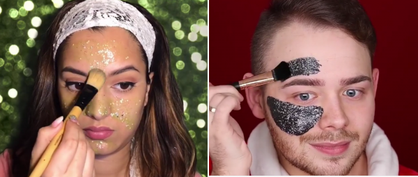 Sparkle & Shine: Here's How You Can Make A Glitter Peel Off Mask, At Home!
