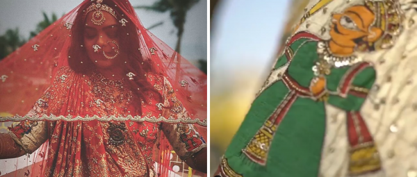This Rajasthani Bride Designed Her Wedding Lehenga & You've Got To See The Final Result!