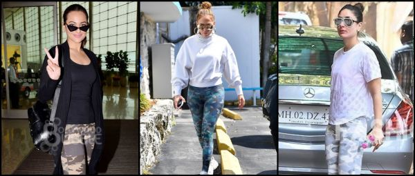 #TrendAlert: Military Print Has Made Its Way To Leggings & Celebs Approve Of It Too!