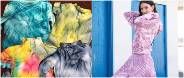 Trend Alert! Tie & Dye Has Made A Comeback & It's Adding Colour To Our Lockdown Fashion
