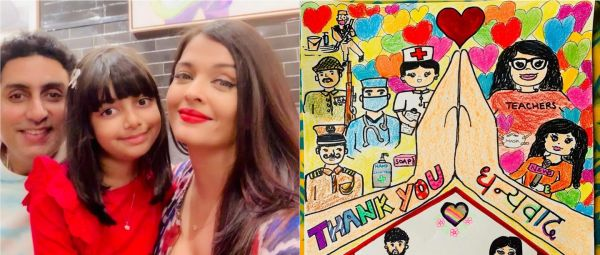 Aaradhya Bachchan's Tribute For Frontline Workers Is The Sweetest Thing You'll See Today