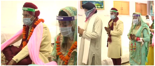 2020 Weddings: Couple Gets Married In A Gurudwara Armed With Masks & Face Shields