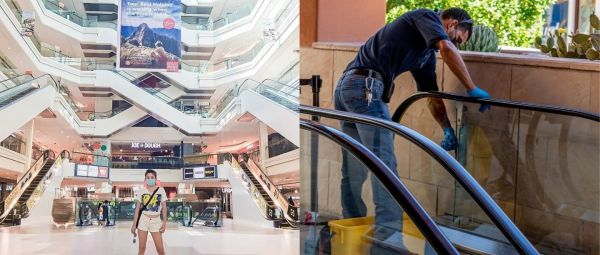 Disinfectant Tunnels To Sanitizer-Soaked Mats, Delhi Malls Reopen With Innovative Measures