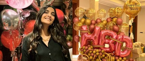 Fam, Flowers & A Hilarious Photoshop: Sonam Kapoor Celebrates Her 35th In Style