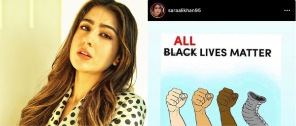 Sara Ali Khan Makes Tone-Deaf 'All Lives Matter' Post, Deletes It After Getting Called Out